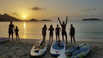 StandUp Paddleboarding @ Sunset