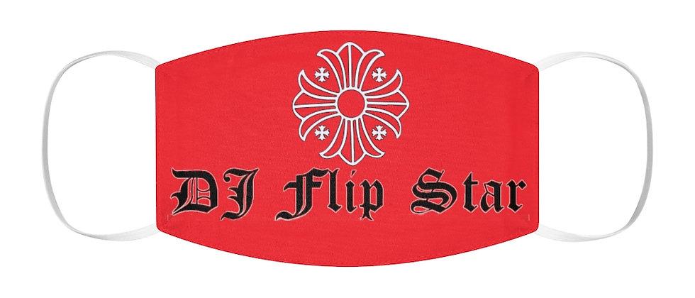 DJ Flip Star Snug-Fit Polyester Face Mask