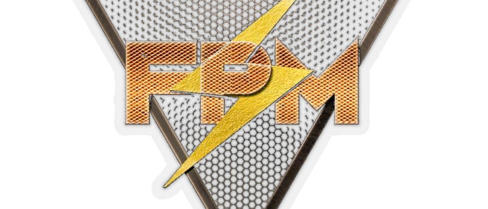 Full Power Muzik Kiss-Cut Stickers