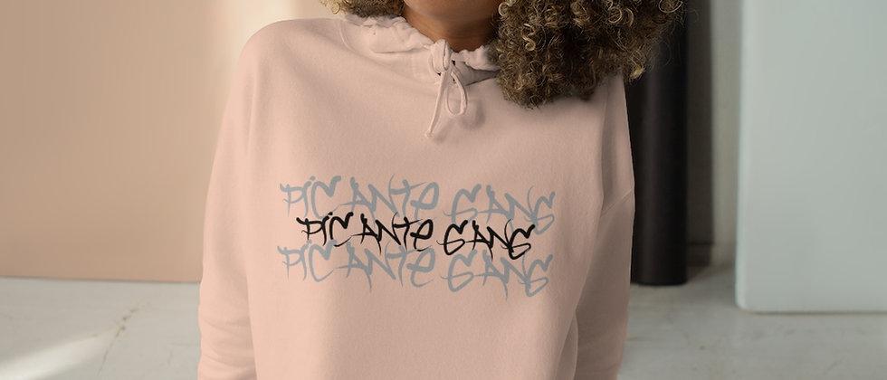 Picante Gang Crop Hoodie