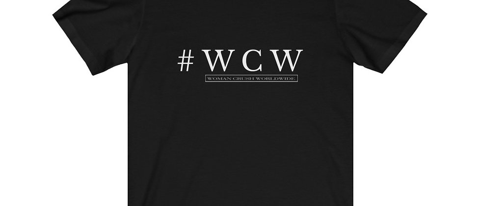 #WCW LOGO Unisex Jersey Short Sleeve Tee