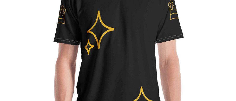 Men's T-shirt Black Artist Angel the Prince