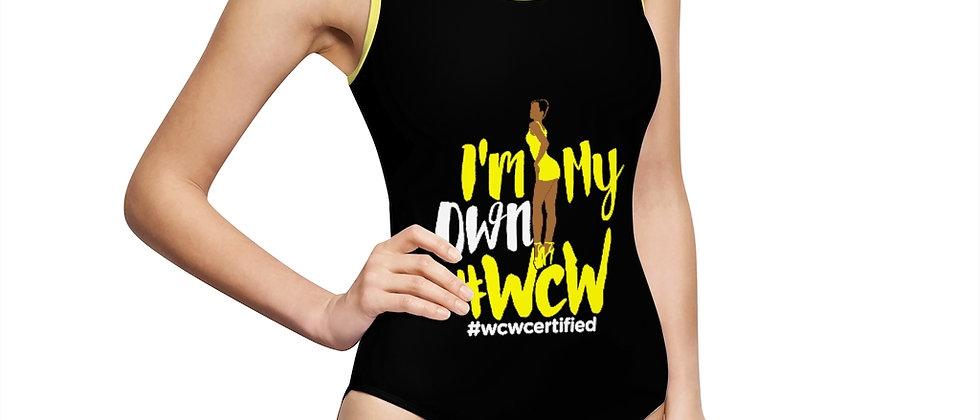 #WCW Women's Classic One-Piece Swimsuit