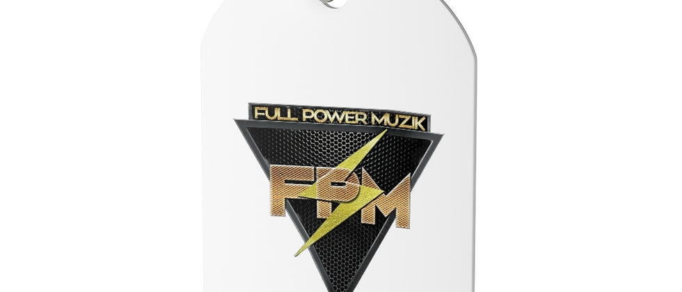 Full Power Muzik Dog Tag