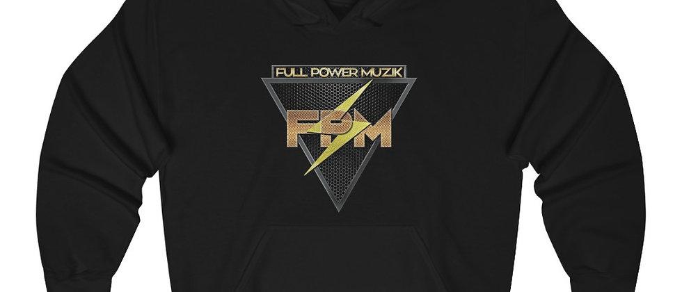 Full Power Muzik Unisex Heavy Blend™ Hooded Sweatshirt