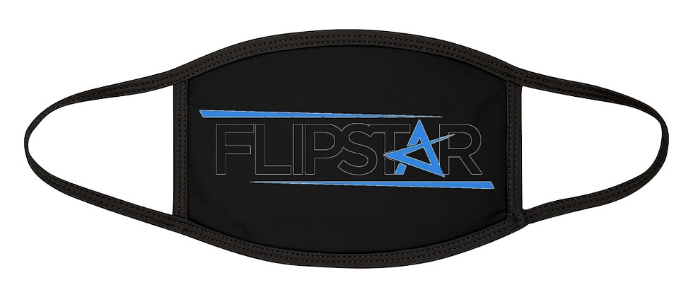 DJ FlipStar Mixed-Fabric Face Mask