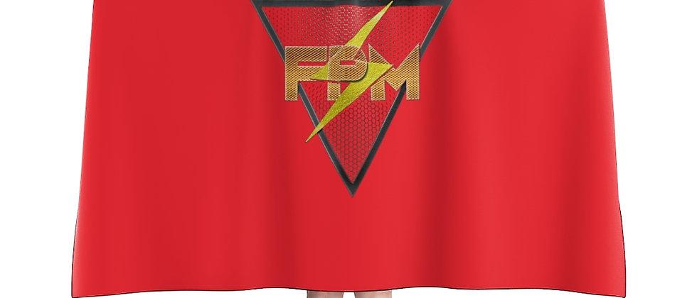 Full Power Muzik Red & Gold Hooded Blanket