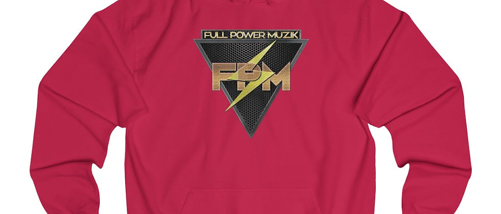 Full Power Muzik Unisex College Hoodie