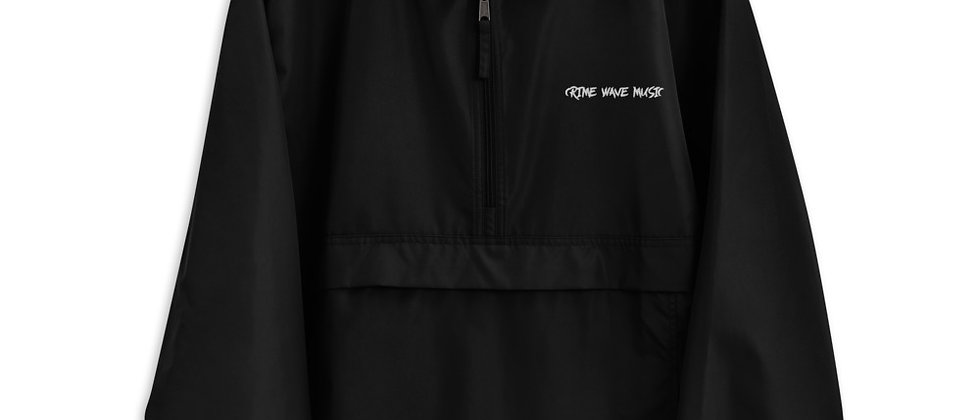 Crime Wave Music Embroidered Champion Packable Jacket