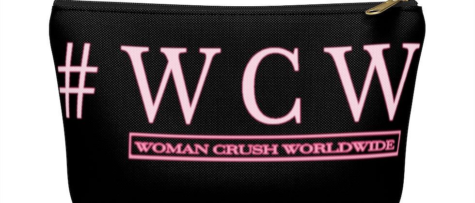 # WCW PINK Accessory Pouch w T-bottom