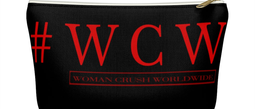 # WCW RED Accessory Pouch w T-bottom