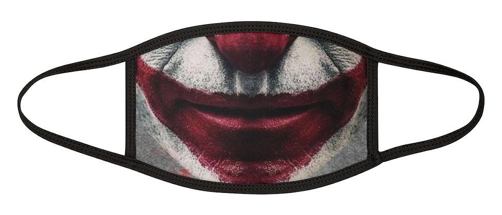 Joker Halloween Mixed-Fabric Face Mask