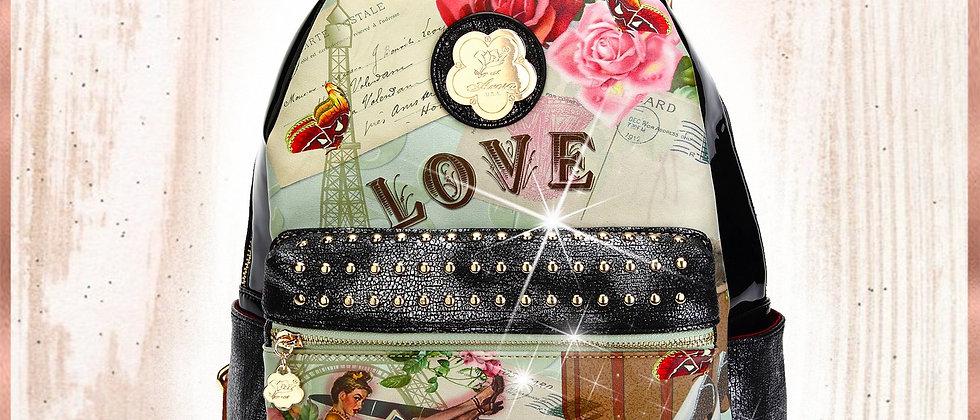 Vintage Trusti Fashion Backpack for Women