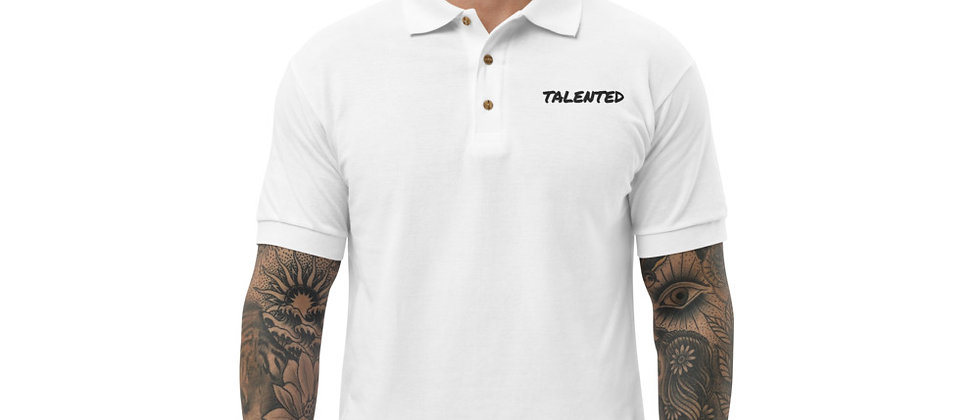 Urban Talent Embroidered Polo Shirt