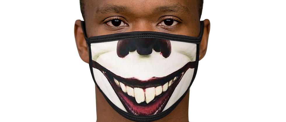 Clown Halloween Mixed-Fabric Face Mask