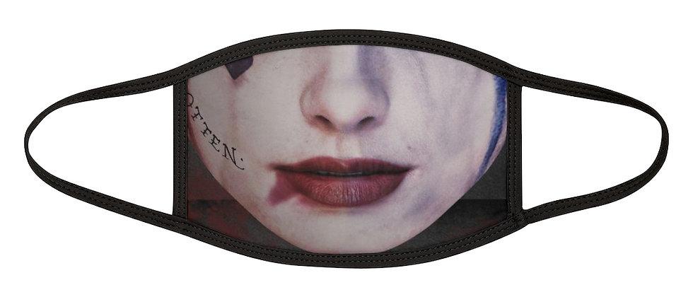 Harley Quinn Mixed-Fabric Face Mask