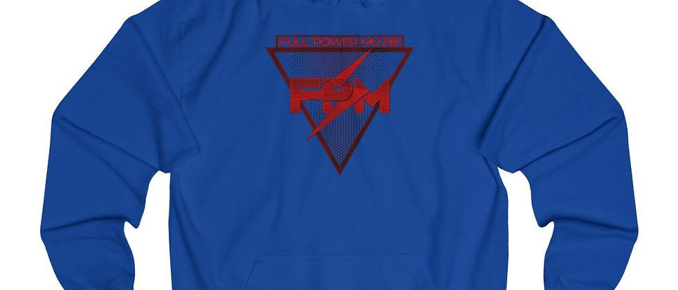 Discounted Price Full Power Muzik Logo in Red Unisex College Hoodie