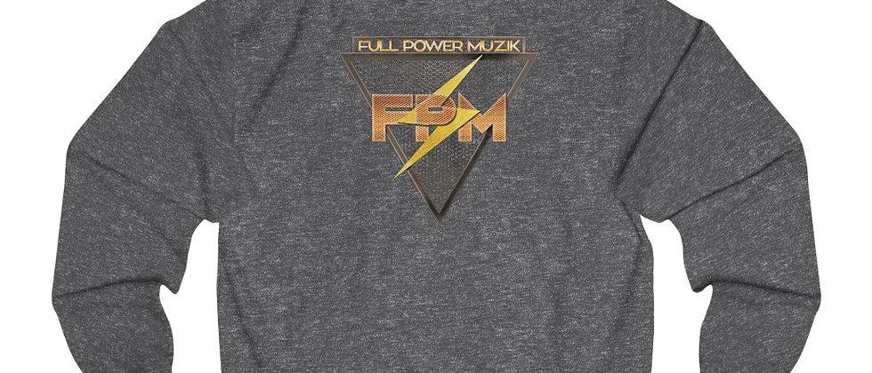 Discounted price for Full Power Muzik Logo Gold Unisex College Hoodie