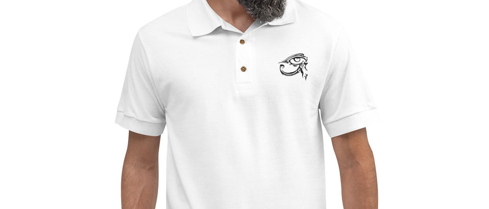 Karate Mike Embroidered Polo Shirt
