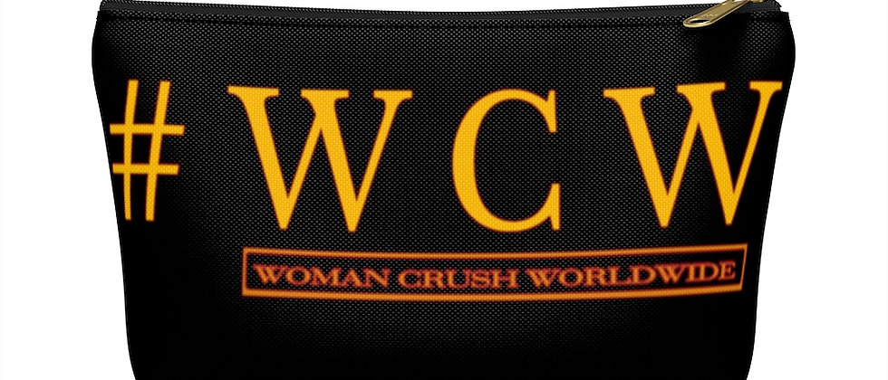 # WCW GOLD Accessory Pouch w T-bottom