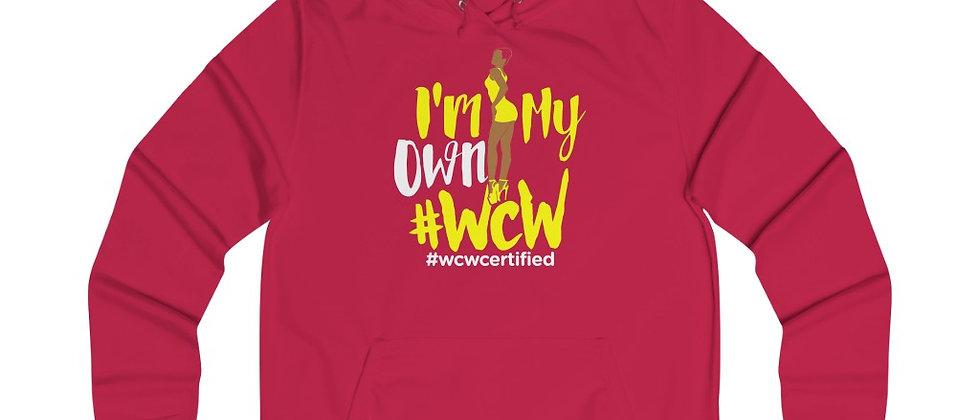 #WCW Girlie College Hoodie