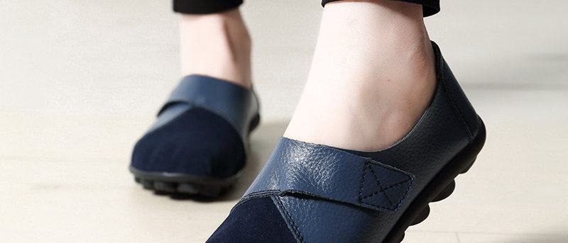 Breathable Soft Genuine Leather Flats