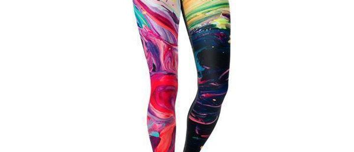 Beverly Paint Stroke Legging