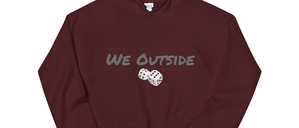 "Menol 157 Unisex Hoodie """"We OutSide""'"