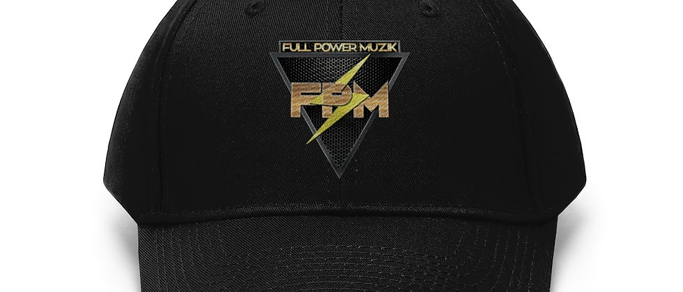 Full Power Muzik Unisex Twill Hat
