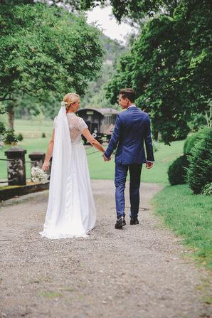 Das Brautpaar beim Shooting