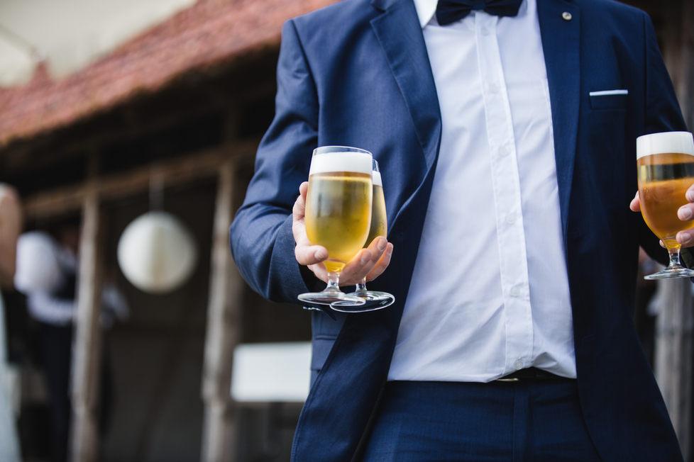 Der wohlverdiente Bier