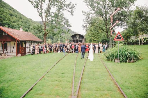 Hochzeitsgesellschaft