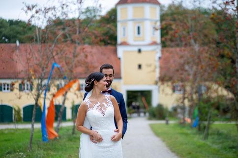 Brautpaar Schloss Blumenthal
