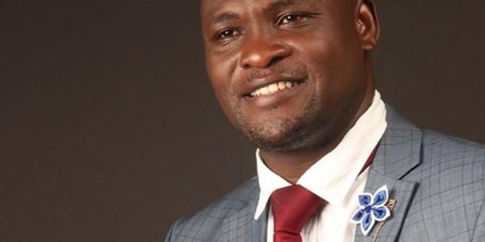 Ben Okello preaches at Maytown Tabernacle