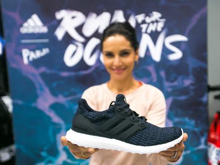 Llega UltraBOOST Parley Deep Ocean Blue, las zapatillas hechas con plástico reciclado del océano