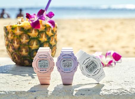 Los relojes especializados de G-SHOCK y BABY-G para volver a las olas