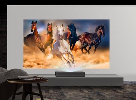 El proyector LG cinebeam 4k lleva la calidad de imagen a niveles impresionantes