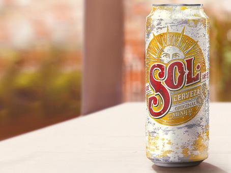 Cerveza Sol lanza nuevo formato de lata en 470 cc