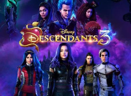 #Movies: Descendientes 3, El nuevo estreno de Disney Channel