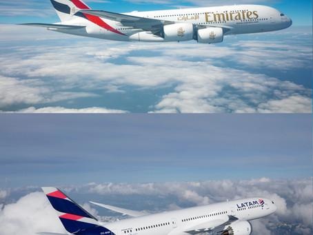 Emirates expande sus destinos a través de alianza con LATAM Airlines