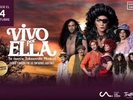 Paola Volpato será la villana de nuevo musical que parodia a las telenovelas