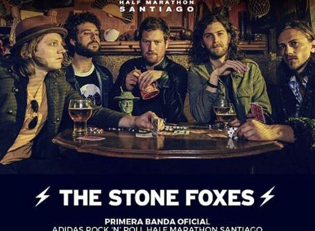 The Stone Foxes será la banda que cerrará adidas Rock & Roll Half Marathon