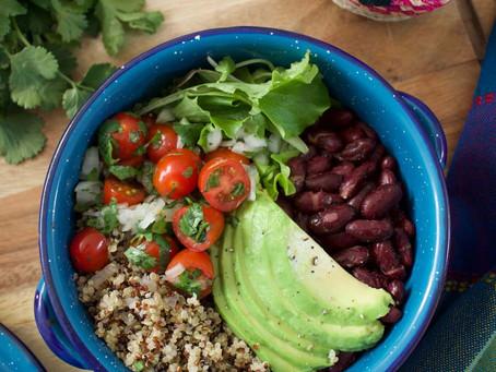 Bowl mexicano con quinoa
