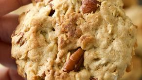 Galletas con nueces y avena (gluten free)