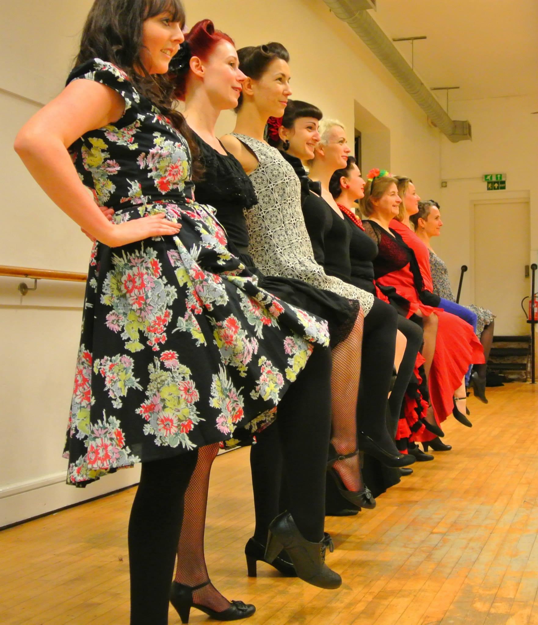 1940s latin chorus dance course