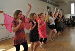 1940s chorus dance workshop