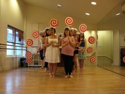1930s chorus dance workshop
