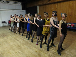1920s showgirl course