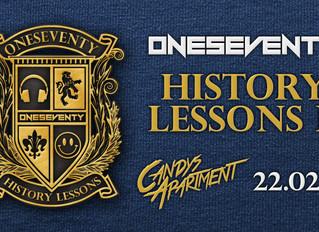 OneSeventy: History Lessons II [22.02.19]