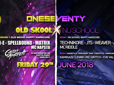 OneSeventy: Old Skool x Nu School [29.06.18]